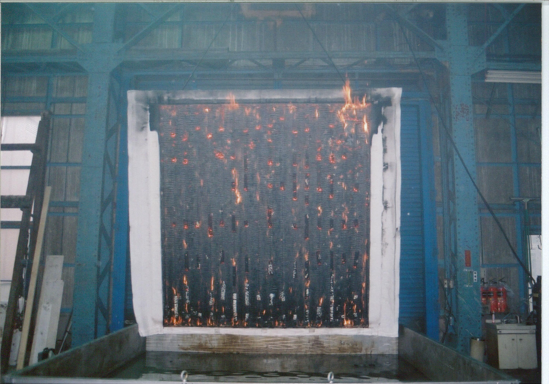 信州カラマツサイディング(ボードアンドバテン)木造枠組壁工法防火構造