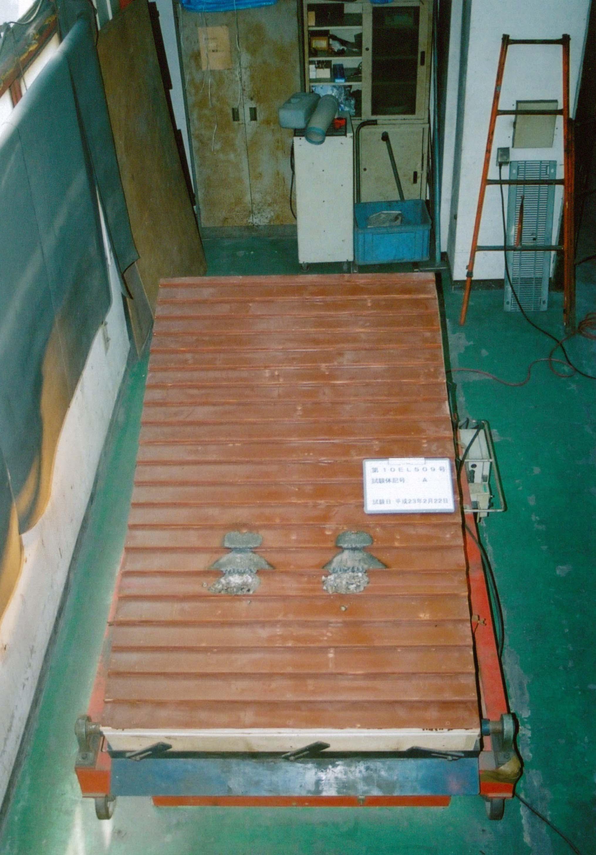 信州カラマツ防火地域内屋根材(断熱材有り)