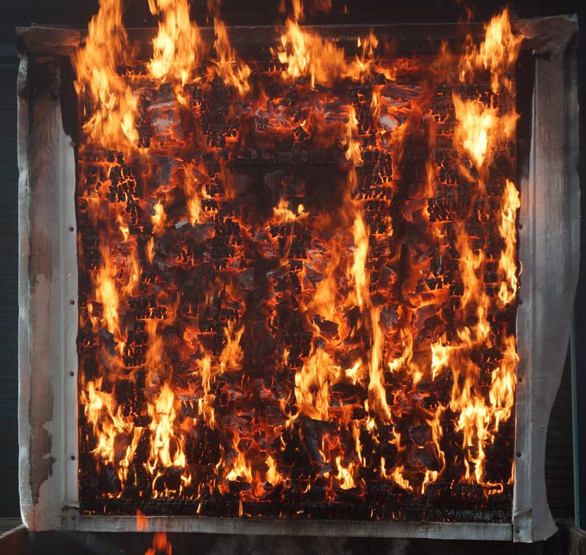 ウエスタンレッドシダ―外装材1時間準耐火構造